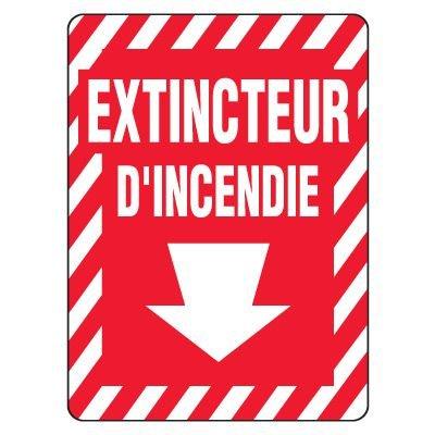 Enseignes De Sortie D'Incendie - Extincteur D'Incendie (Flèche)
