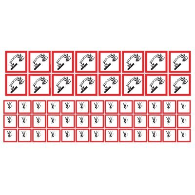GHS Mini Pictogram Label Sheets and Rolls