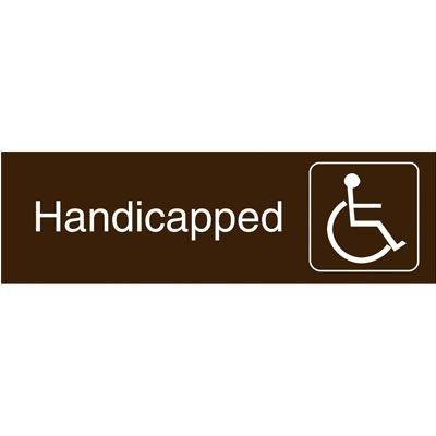 Graphic Architectural Signs - Handicapped