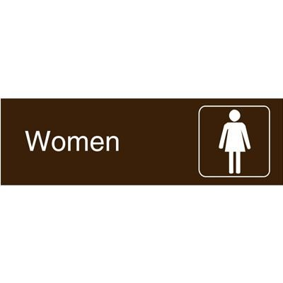 Graphic Architectural Signs - Women