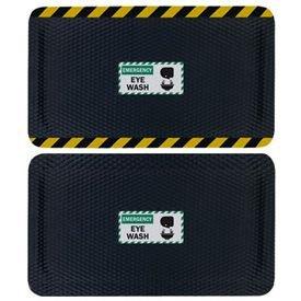 Hog Heaven Safety Message Anti-Fatigue Mats - Emergency Eye Wash