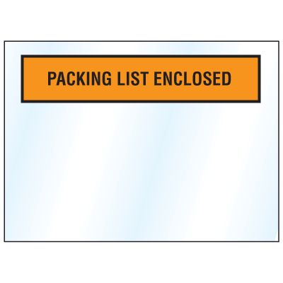 Invoice And Packing List Envelopes - Packing List Enclosed