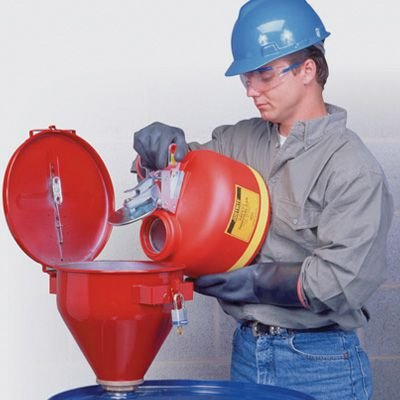 Justrite® Hazard Liquid Safety Funnels