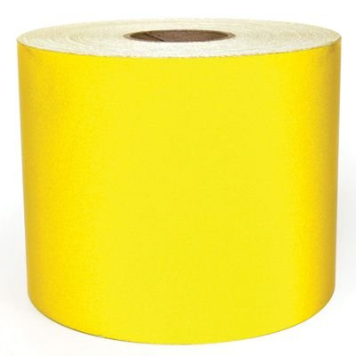 LabelTac® LT301RF Reflective Printer Labels - Yellow