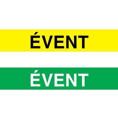 Opti-Code™ Pipe Markers - Event