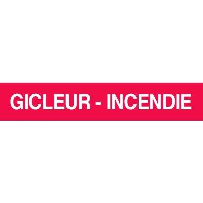 Opti-Code™ Pipe Markers - Gicleur - Incendie