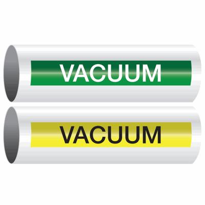 Opti-Code™ Self-Adhesive Pipe Markers - Vacuum