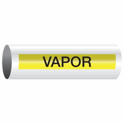 Opti-Code™ Self-Adhesive Pipe Markers - Vapor