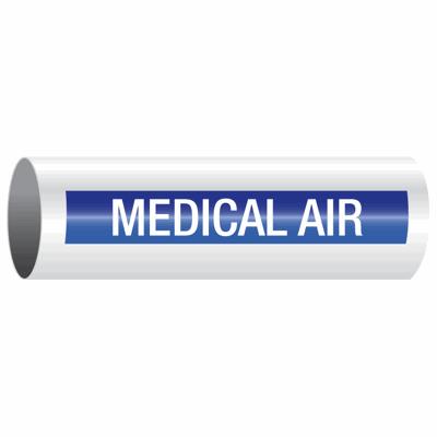 Opti-Code™ Self-Adhesive Pipe Markers - Medical Air