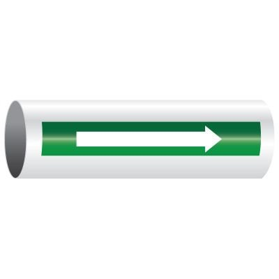 Opti-Code™ Self-Adhesive Pipe Marker Directional Arrows