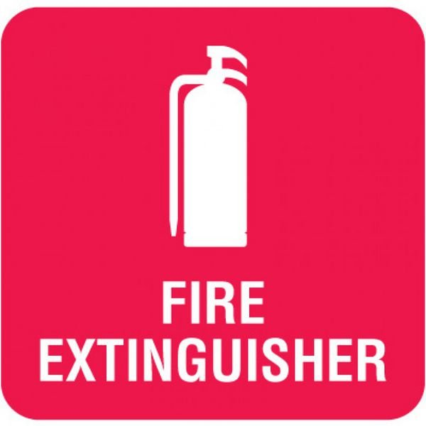 Optima Wall Mount Signs - Fire Extinguisher