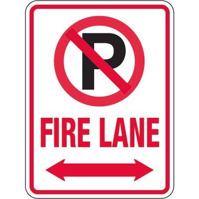 Pavement Message Signs - Fire Lane