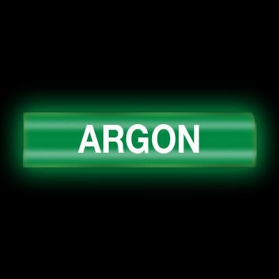 Reflective Opti-Code™ Self-Adhesive Pipe Markers - Argon