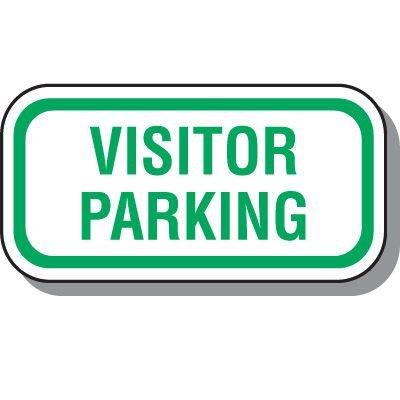 Reserved Parking Signs - Visitor Parking