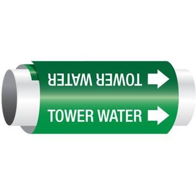 Setmark® Snap-Around Pipe Markers - Tower Water