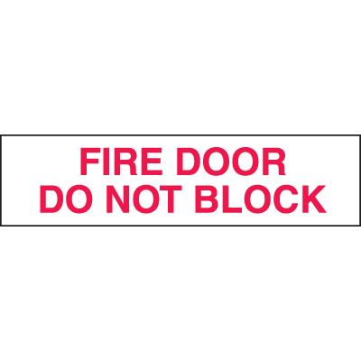 Setonsign® Value Packs  - Fire Door Do Not Block