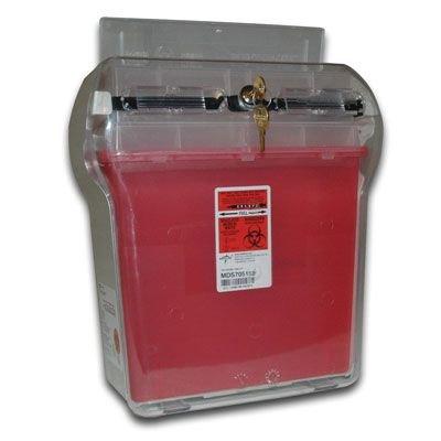 Covidien Covidien 5-Quart Sharps Container/Locking Cabinet MDS705153
