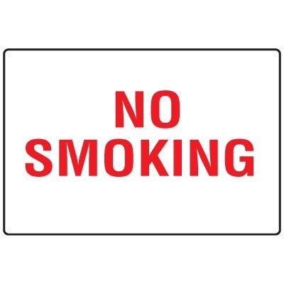 Snap Loop Signs - No Smoking