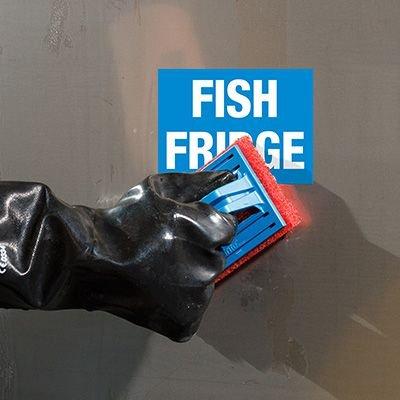 ToughWash® Labels - Fish Fridge