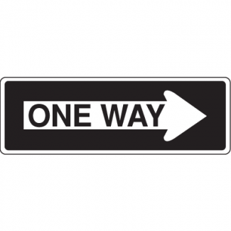 Traffic Signs - One Way