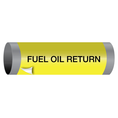 Ultra-Mark® Snap-Around High Performance Pipe Markers - Fuel Oil Return