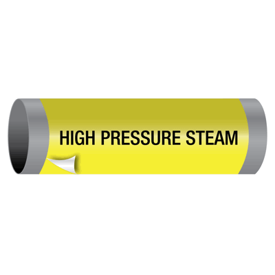 Ultra-Mark® Snap-Around High Performance Pipe Markers - High Pressure Steam
