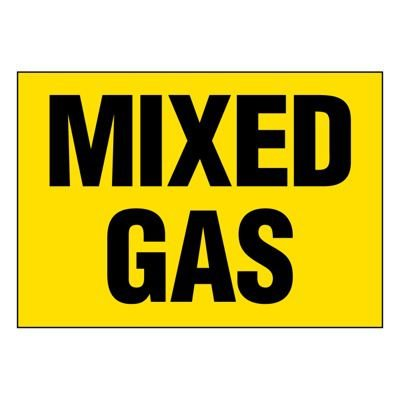 Ultra-Stick Signs - Mixed Gas
