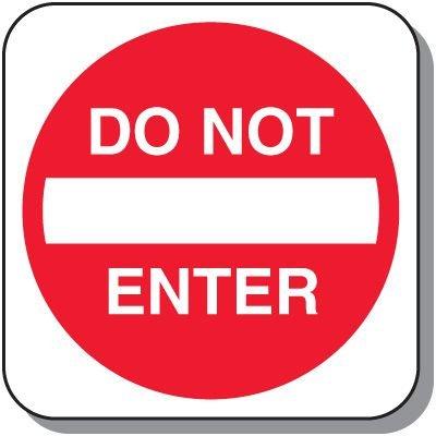 Visitor Parking Signs - Do Not Enter