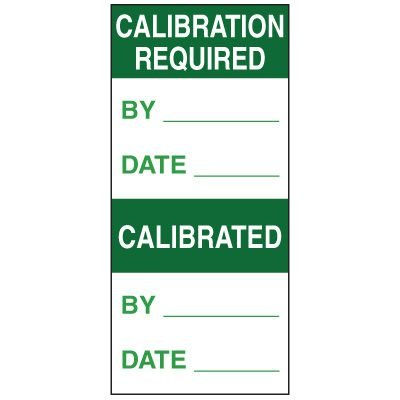 Write-On Action Labels - Calibration Required