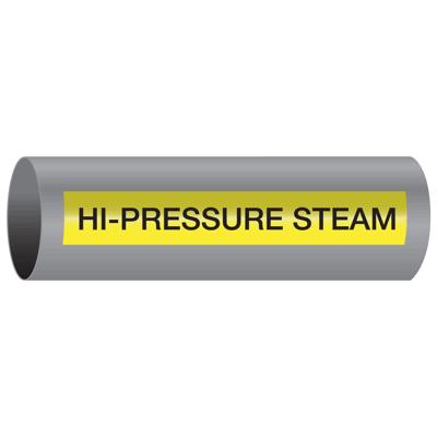 Xtreme-Code™ Self-Adhesive High Temperature Pipe Markers - Hi-Pressure Steam