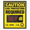 Decibel Meter Sign Kit - Ear Protection (Earmuffs Symbol)
