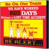 Electronic Safety Scoreboard - Be On Our Team