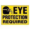 Ultra-Stick Signs - Caution Eye Protection Required
