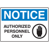 Notice Signs For Rough And Curved Surfaces