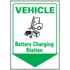 Vehicle  Battery Charging Station Safety Equipment Marker
