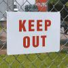 Vandal Resistant Signs- Keep Out