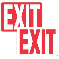 2-Part Universal Arrow & Sign Kit - Exit