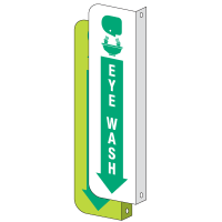 2-Way View Eye Wash Sign