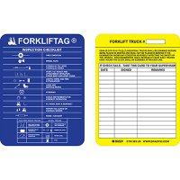 Forklift Inspection Checklist Tag Insert