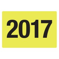 2017 Fluorescent Warehouse & Pallet Labels
