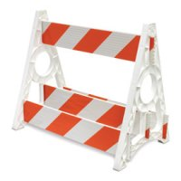 4-Board Barricade Components