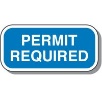 Add-On Handicap Parking Signs - Permit Required