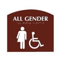 All Gender (Accessibility) - Evolution Restroom Signs