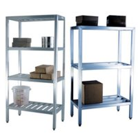 All Welded Aluminum Shelving