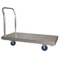 Aluminum Checker Plate Deck Platform Truck