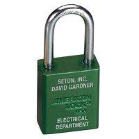 American Lock® Custom-Engraved Aluminum Padlocks