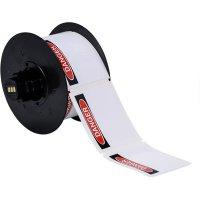 Brady B30-25-595-OSHADA B30 Series Label - Black/Red on White