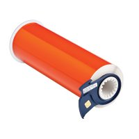 BBP®85 Series Label: Polyimide, Orange, 10 in W x 33 ft L