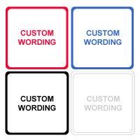 Custom & Blank Magnetic Signs