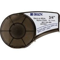 Brady M21-750-499 BMP21 Plus Label Cartridge - Black on White